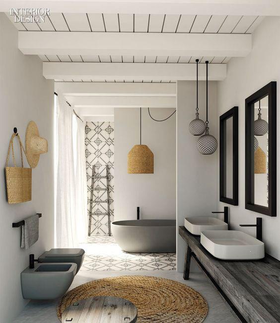 5 salles de bains qui vont vous donner envie d 39 en changer for Zara home salle de bain