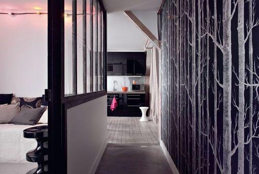 autour de la verri re. Black Bedroom Furniture Sets. Home Design Ideas