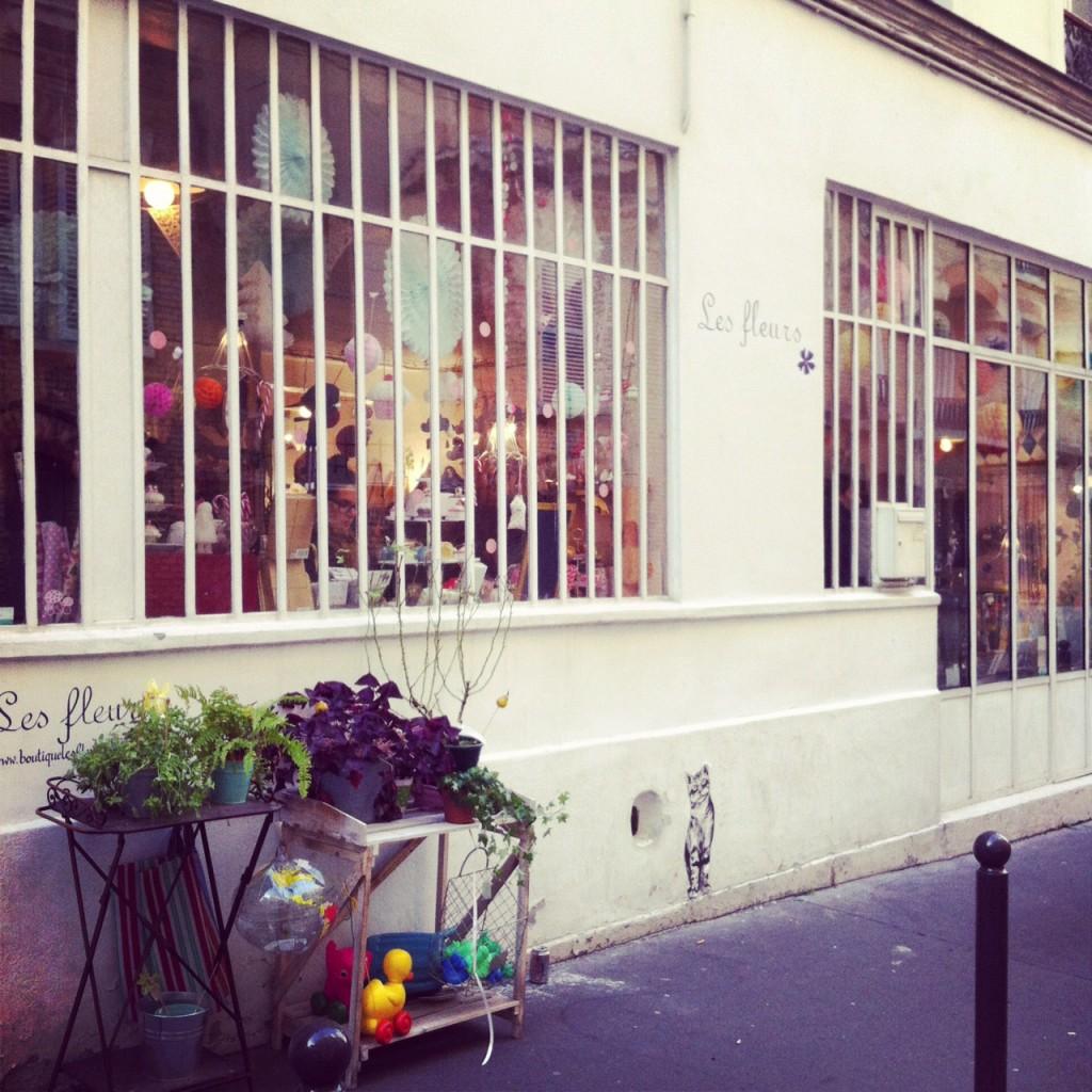 Autre coup de coeur parisien : La Boutique Les Fleurs
