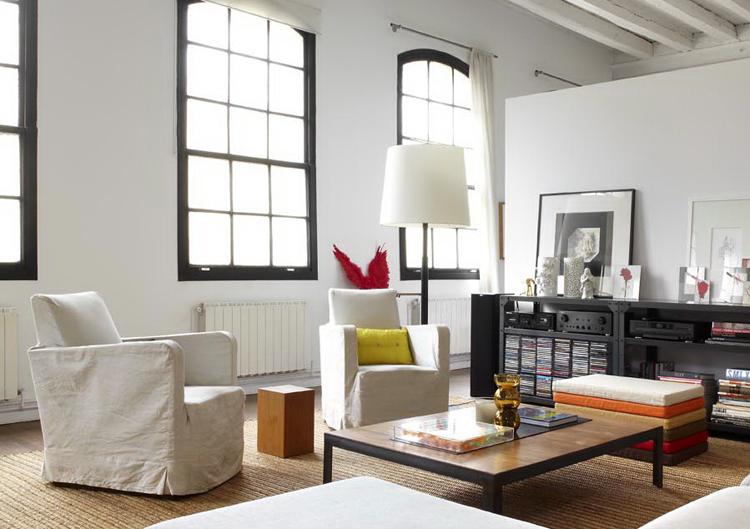 Style loft new yorkais for Interior design new york style