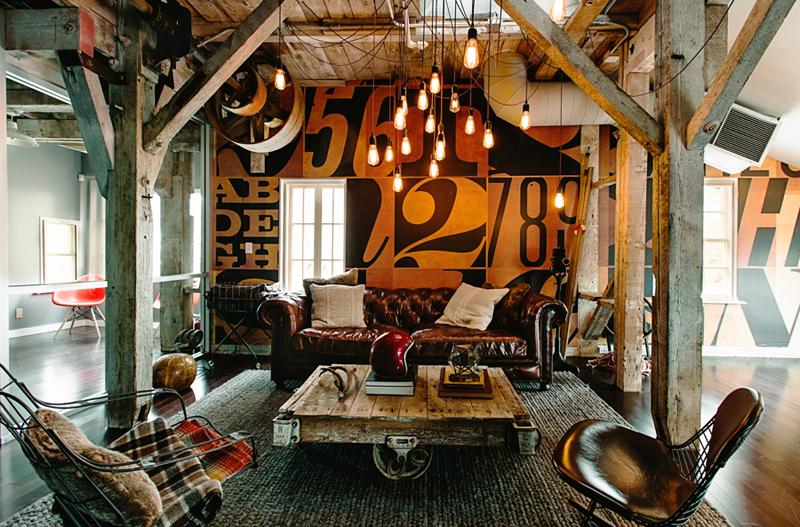 Un bureau d 39 artistes - Deco chambre industrielle ...