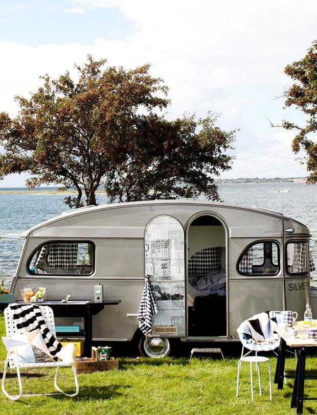 Une caravane, deux styles
