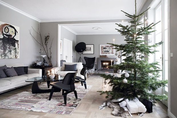 Inspiration no l scandinave - Deco noel scandinave ...