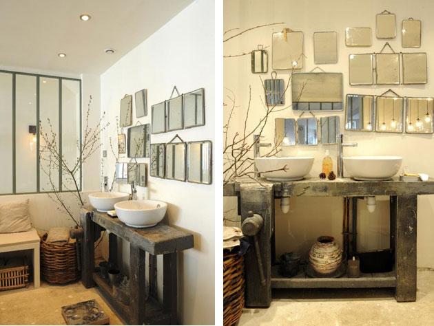 Parlons salle de bain - Salle de bain style atelier ...