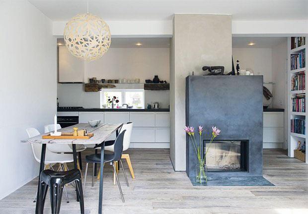visite privee d 39 une maison suedoise blueberry home. Black Bedroom Furniture Sets. Home Design Ideas