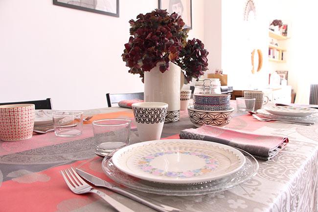 Une table d'automne
