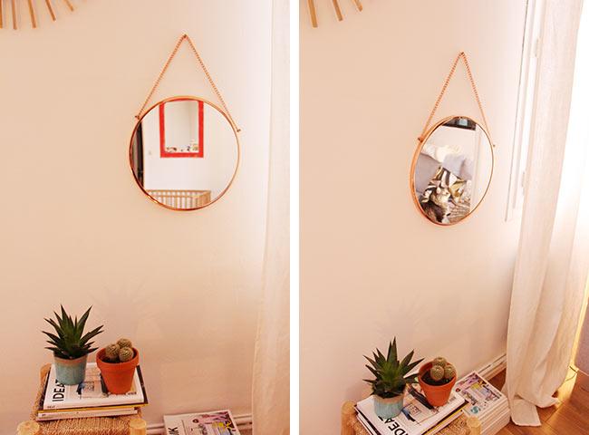 miroir house doctor. Black Bedroom Furniture Sets. Home Design Ideas
