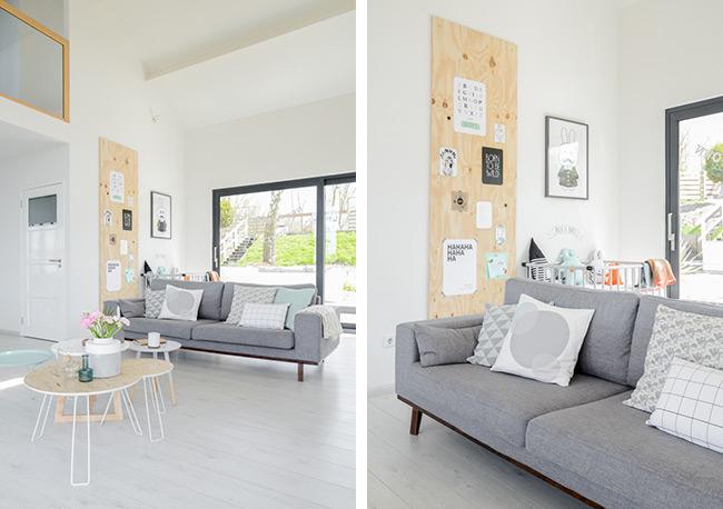 Un int rieur tout en douceur blueberry home - Decoration interieur scandinave ...