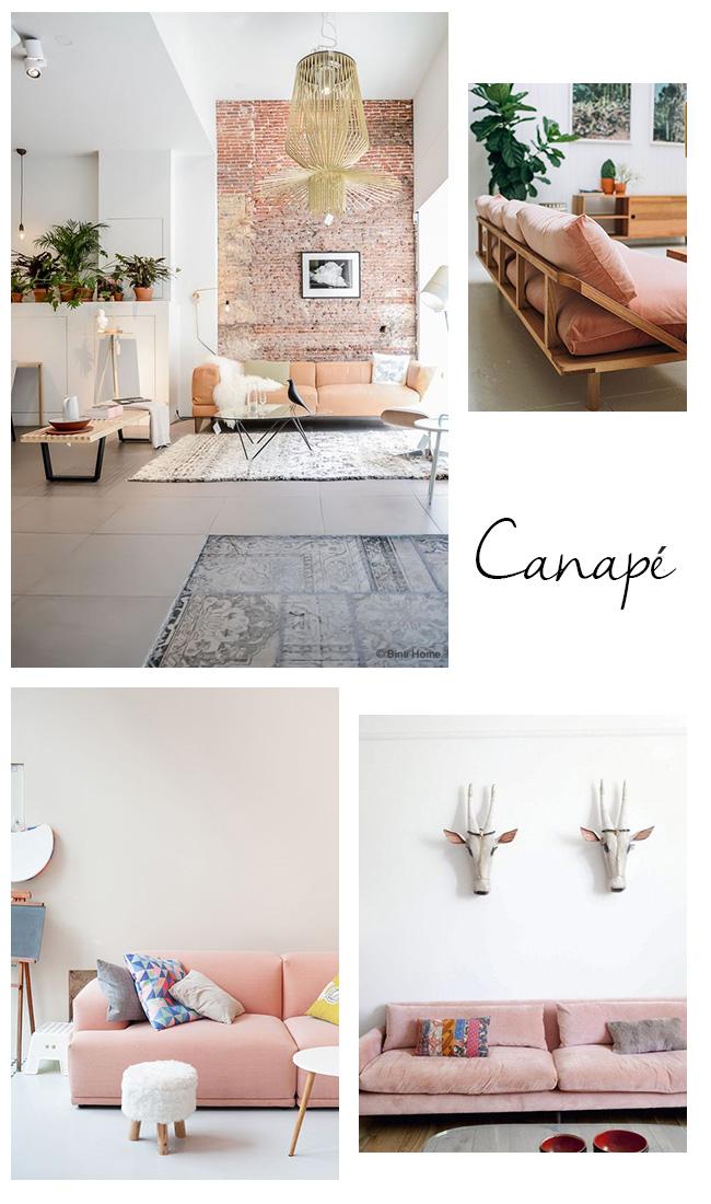 le rose poudr dans la d co blueberry home. Black Bedroom Furniture Sets. Home Design Ideas