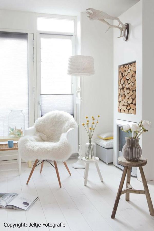 un sol blanc pour une d co scandinave blueberry home. Black Bedroom Furniture Sets. Home Design Ideas