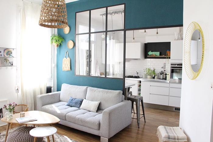 c 39 est nouveau du bleu dans ma d co blueberry home. Black Bedroom Furniture Sets. Home Design Ideas