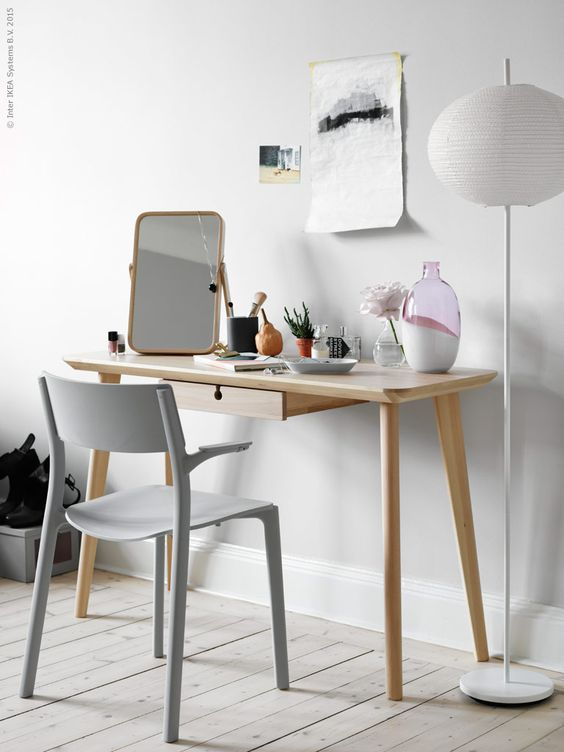 Un Coin Bureau Dans Le Salon Blueberry Home