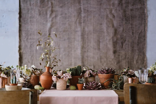 table déco automne
