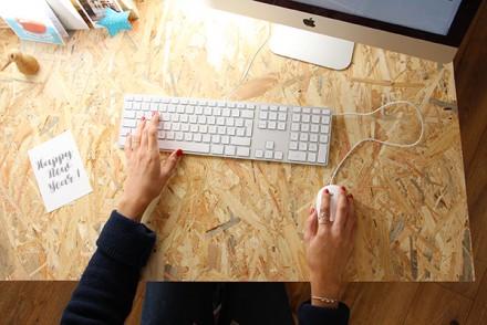 bureau osb diy, bureau facile à fabriquer !