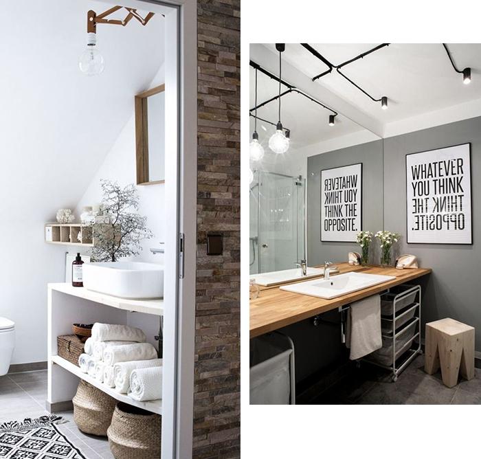 5 astuces d co pour la salle de bain blueberry home - Astuce rangement produit salle de bain ...