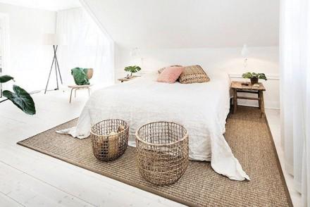 chambre cosy panier et tapis