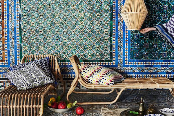 Ambiance ethnique avec la collection Jassa IKEA