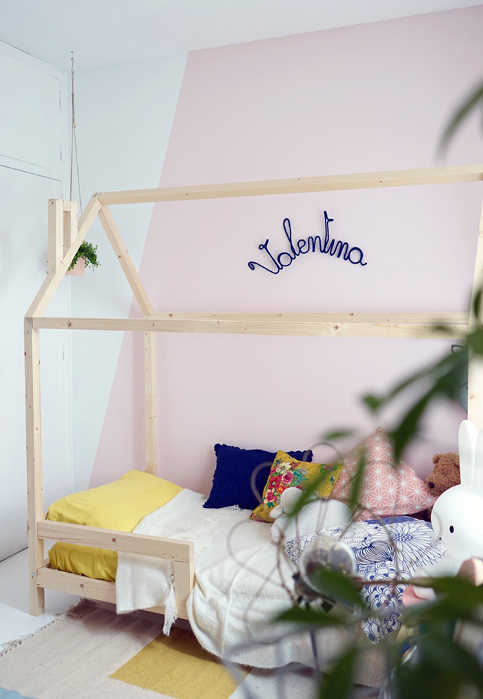 un lit cabane dans une chambre d 39 enfant blueberry home. Black Bedroom Furniture Sets. Home Design Ideas