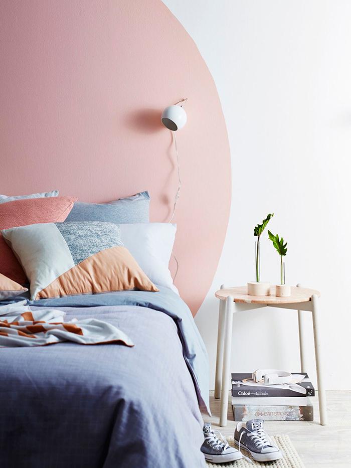 tête de lit peinture inspirations déco