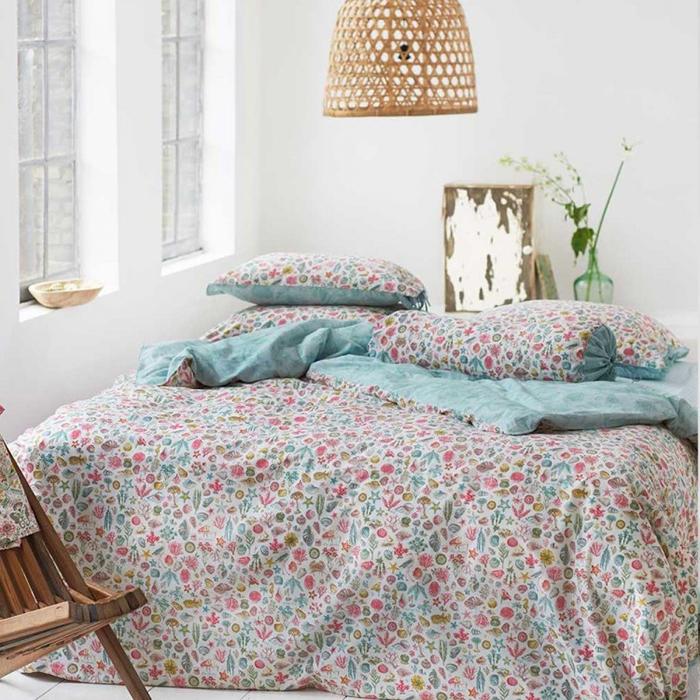 linge de lit printemps