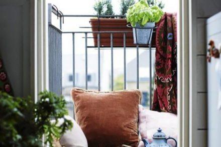 petit balcon idée déco pour l'aménager