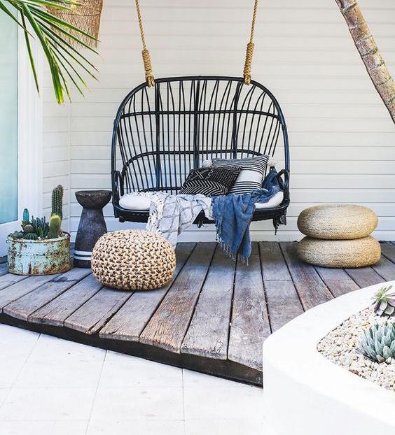 4 astuces pour bien am nager sa terrasse blueberry home. Black Bedroom Furniture Sets. Home Design Ideas