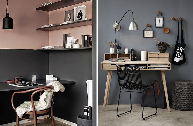 couleur mur bureau maison perfect peinture couleur pi ce de couleur agrandir une pi ce avec des. Black Bedroom Furniture Sets. Home Design Ideas