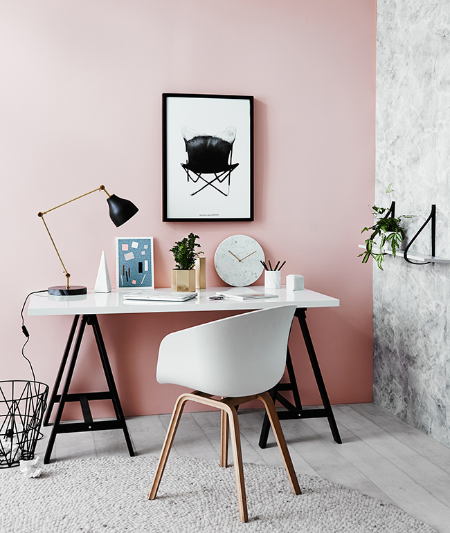 coin bureau mur couleur