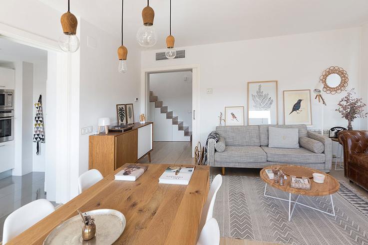 D co chaleureuse dans un appartement moderne blueberry home - Decoration interieur appartement moderne ...