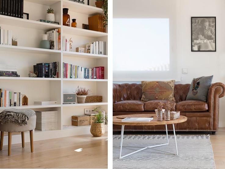 d co chaleureuse dans un appartement moderne blueberry home. Black Bedroom Furniture Sets. Home Design Ideas