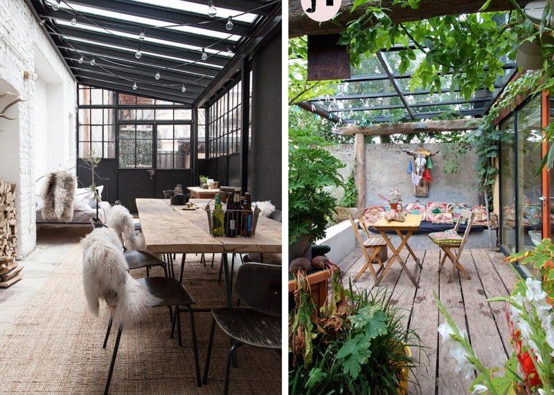 veranda deco couv blueberry home. Black Bedroom Furniture Sets. Home Design Ideas
