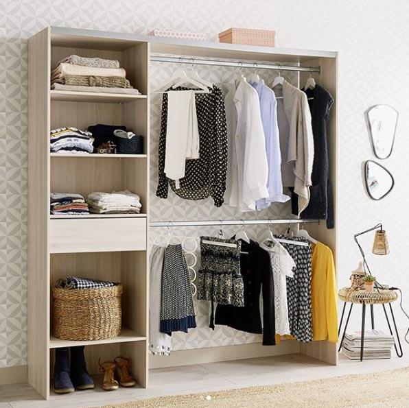 Optimiser le rangement 4 meubles pratiques blueberry home for Optimiser rangement chambre