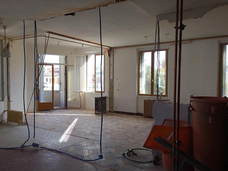 avant après rénovation déco