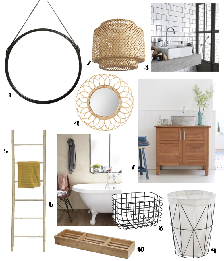 10 accessoires pour une salle de bain tendance blueberry home. Black Bedroom Furniture Sets. Home Design Ideas