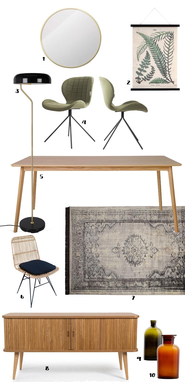 une nouvelle salle manger gr ce aux soldes d co blueberry home. Black Bedroom Furniture Sets. Home Design Ideas