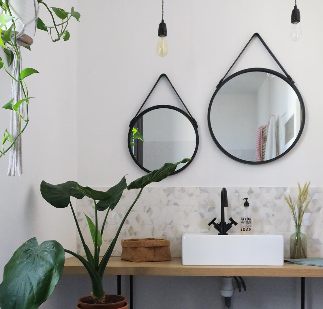 Ma salle de bain avant/après
