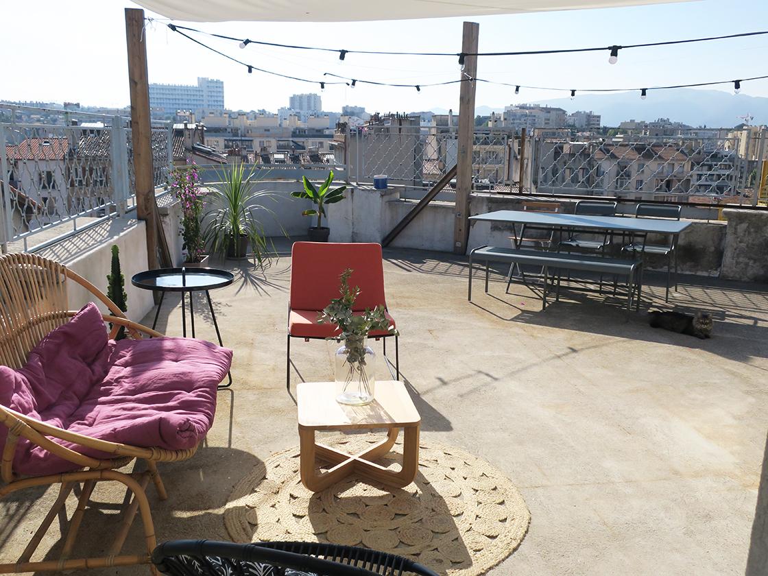 La terrasse, new life !