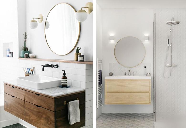 salle de bain luminaires