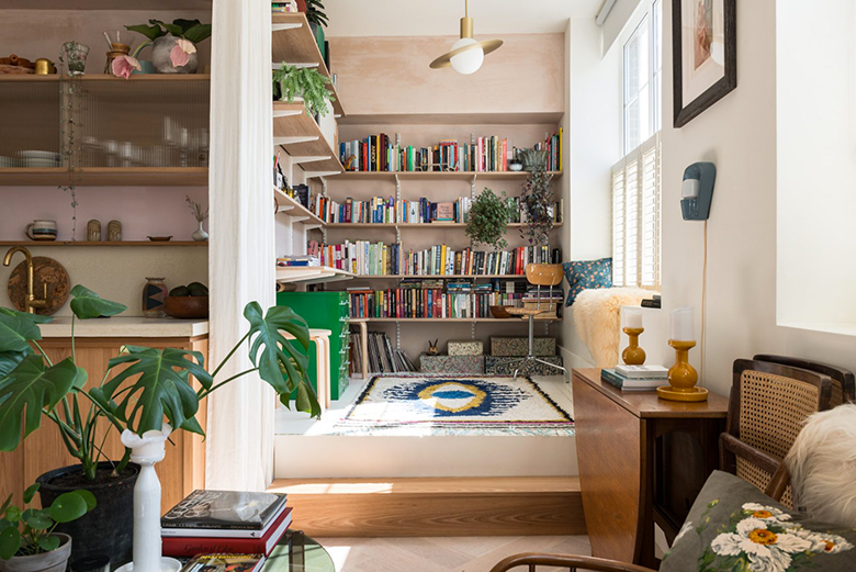 deco kinfolk bibliotheque