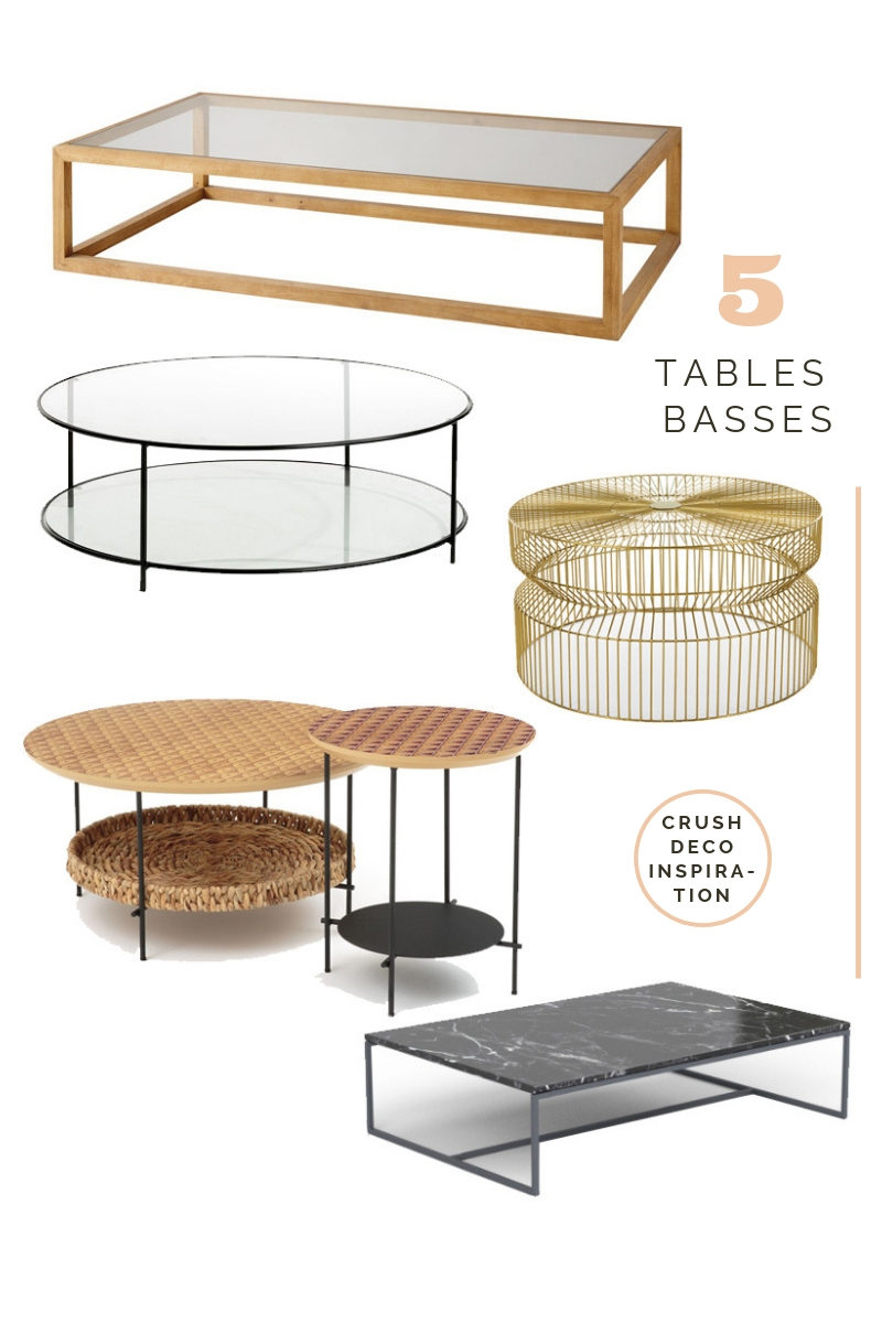 table basse sélection tendance