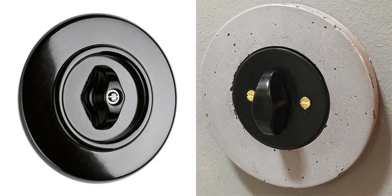 soigner les détails déco interrupteurs vintage
