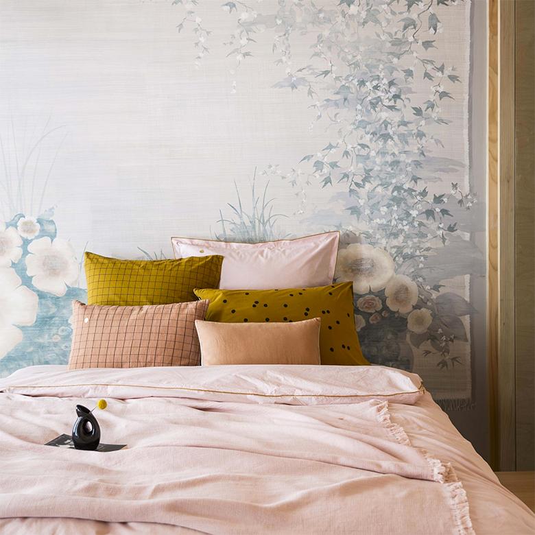 soigner les détails déco linge de lit