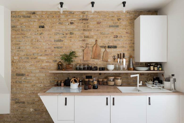 intérieur sur mesure cuisine blanche