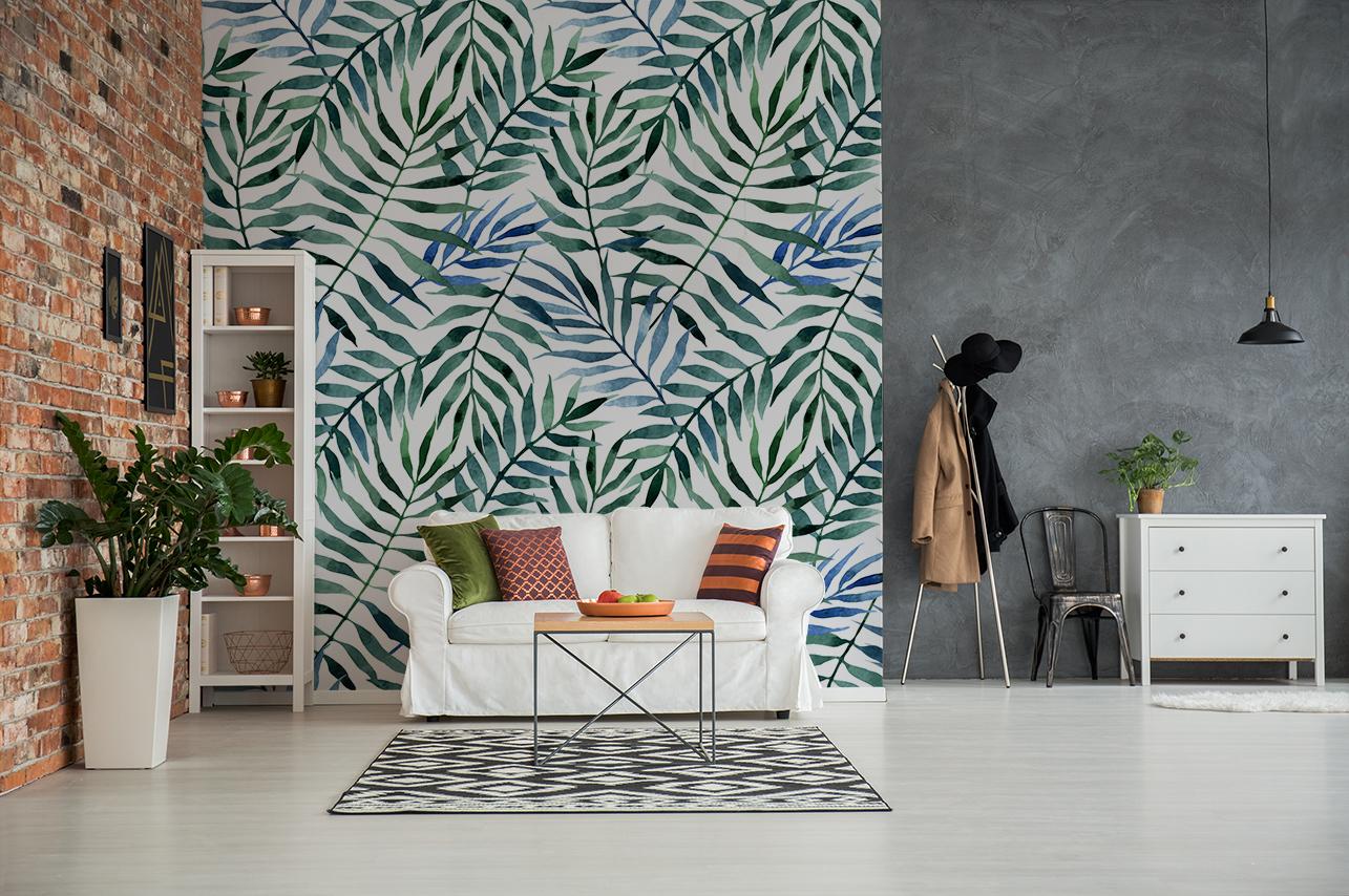 changer de décor papier peint tropical