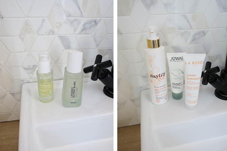 favoris beauté salle de bain hydratation