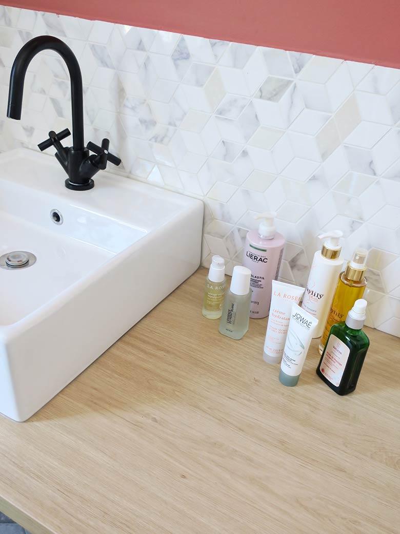 favoris beauté salle de bain hydratation grossesse