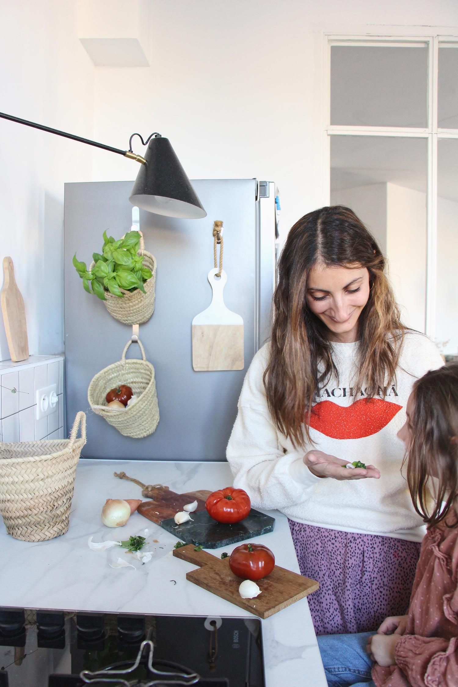DIY cuisine accessoiriser son frigo crochets command