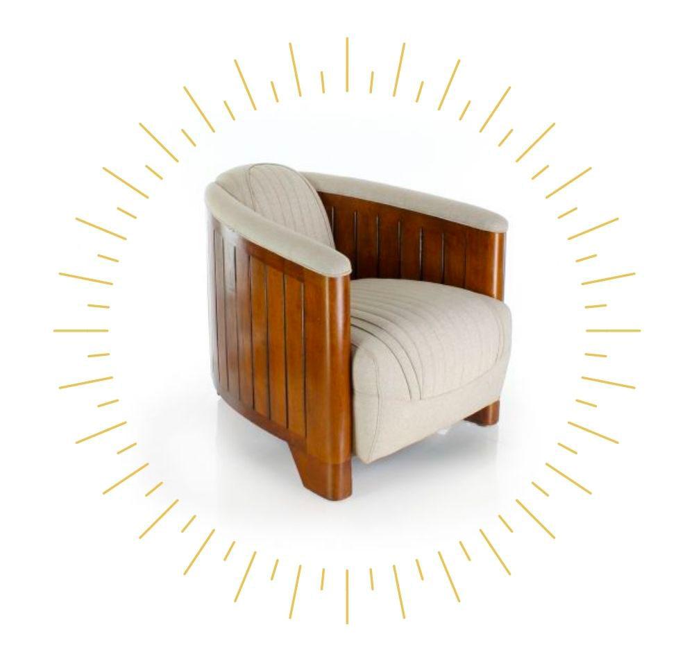 intérieur chaleureux fauteuil scandinave