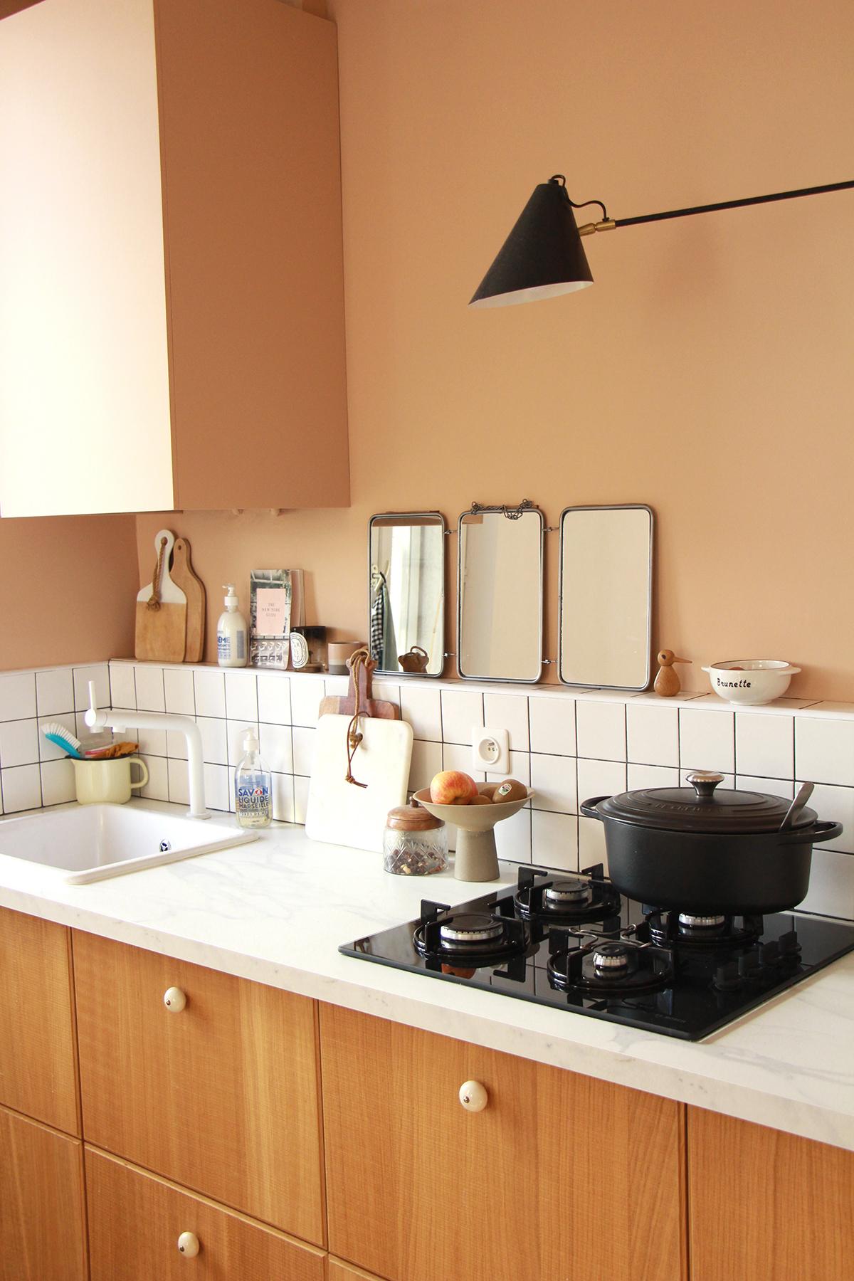 coffrer chaudière cuisine déco
