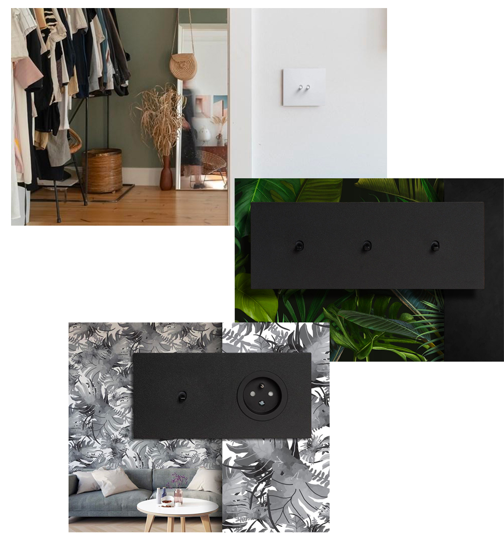interrupteur ecoome gamme Vectis